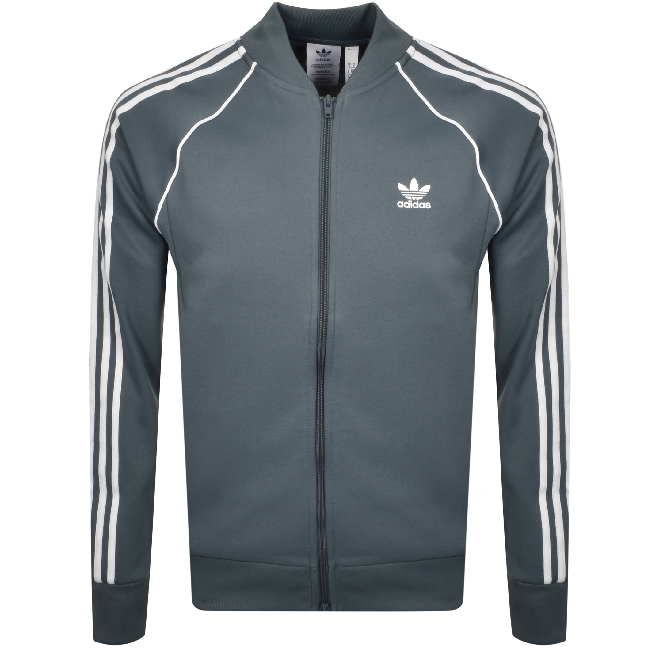 Adidas Originals ADIDAS ORIGINALS SUPERSTAR TRACK TOP GREY