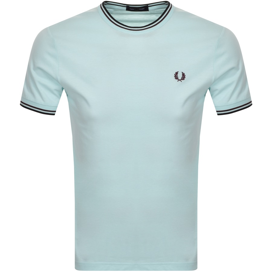 Fred Perry FRED PERRY TWIN TIPPED T SHIRT BLUE