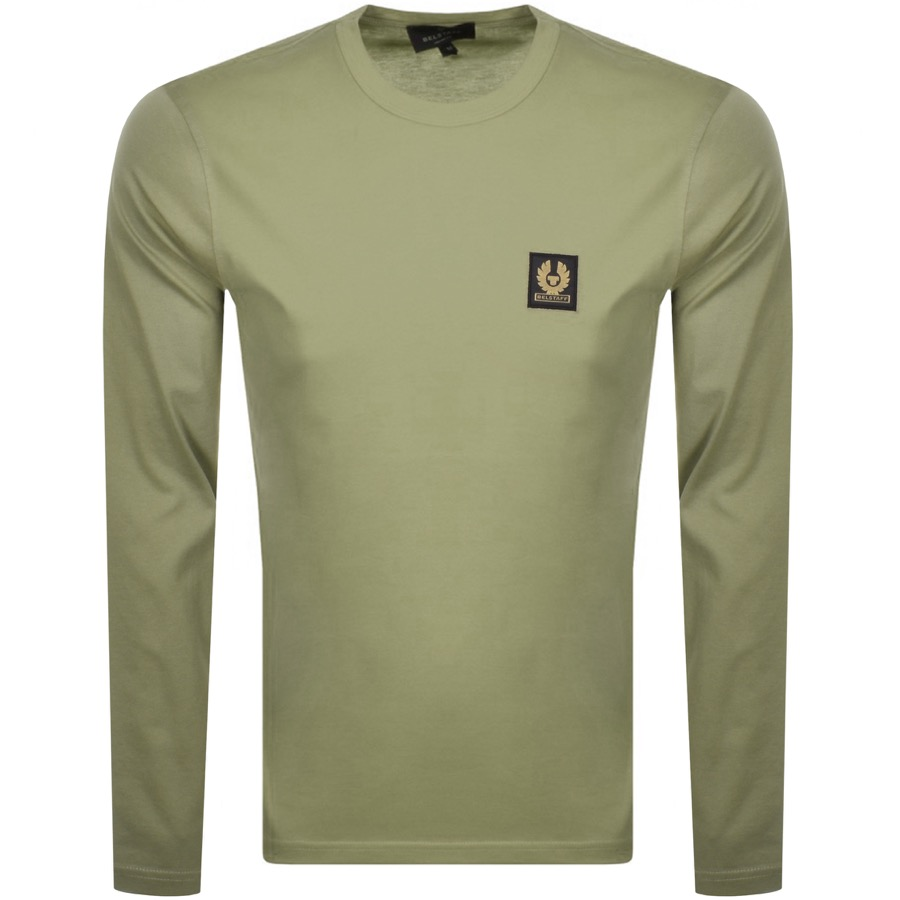 Belstaff BELSTAFF LONG SLEEVED T SHIRT GREEN