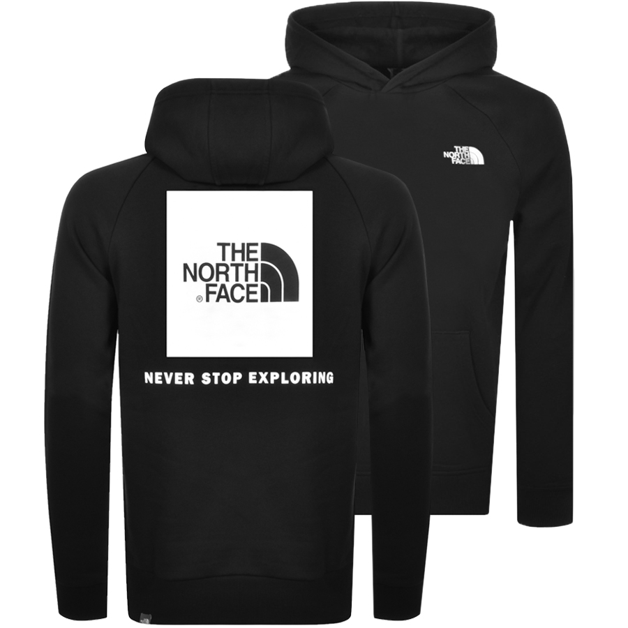 The North Face Cottons THE NORTH FACE REDBOX HOODIE BLACK