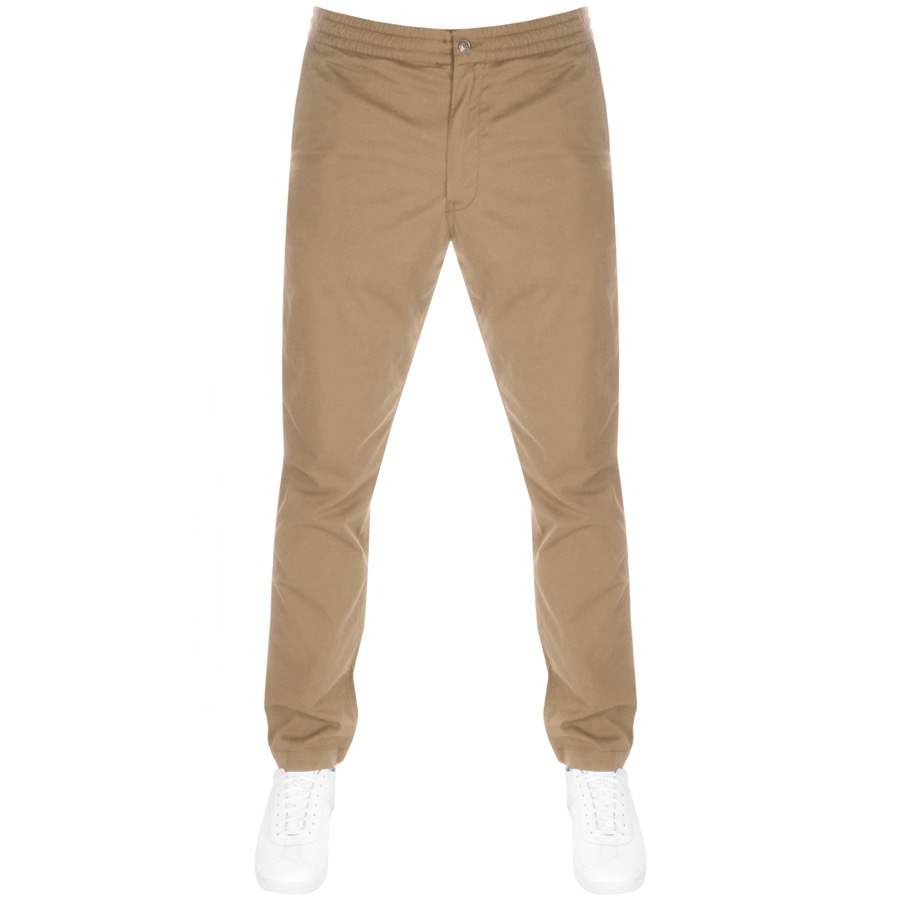 Ralph Lauren Relaxed Fit Trousers Beige