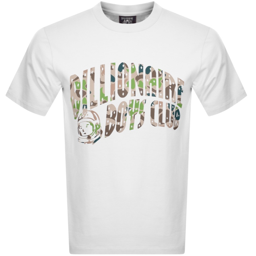 Billionaire Boys Club BILLIONAIRE BOYS CLUB ARCH CAMO LOGO T SHIRT WHITE