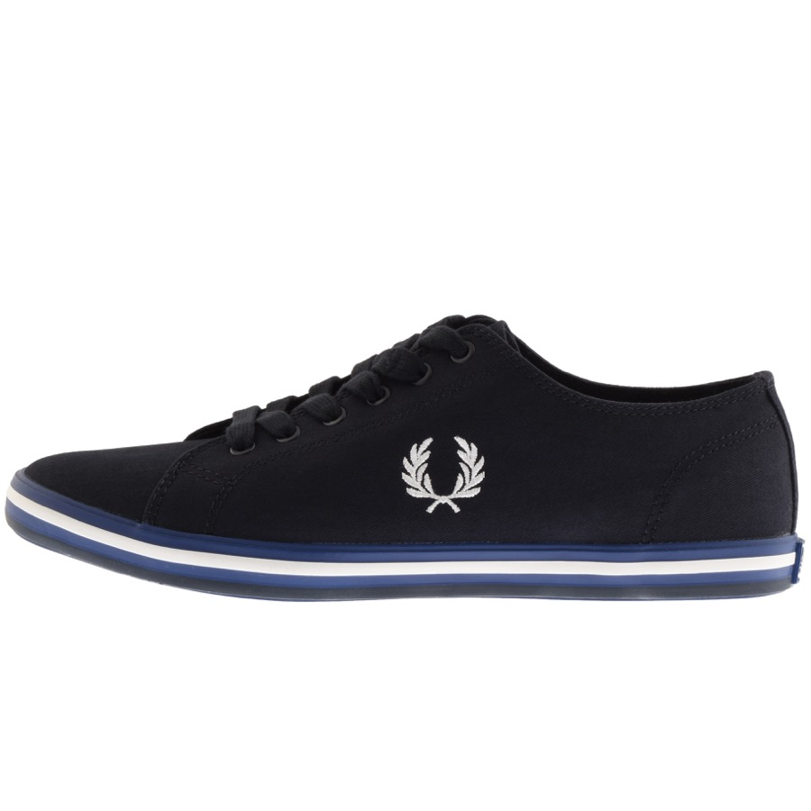 Fred Perry Kingston Twill Trainers Navy