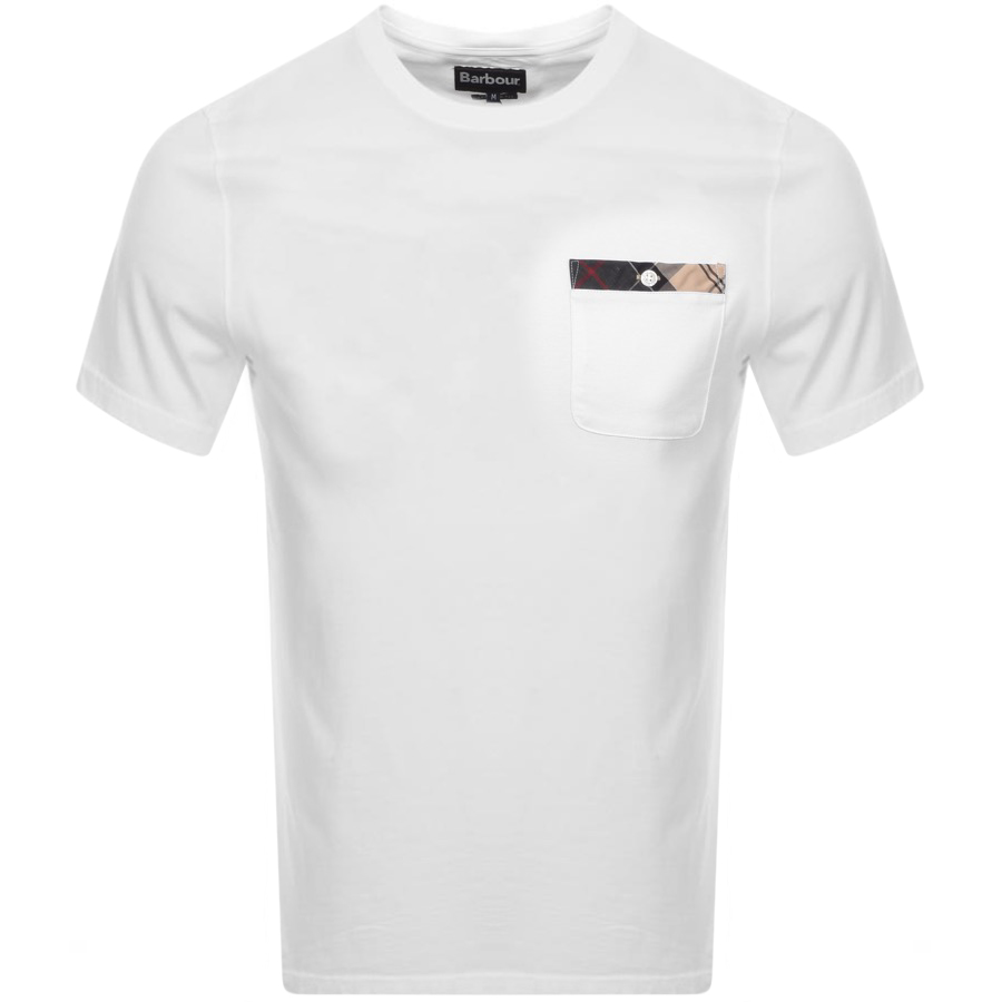 Barbour Durness T Shirt White