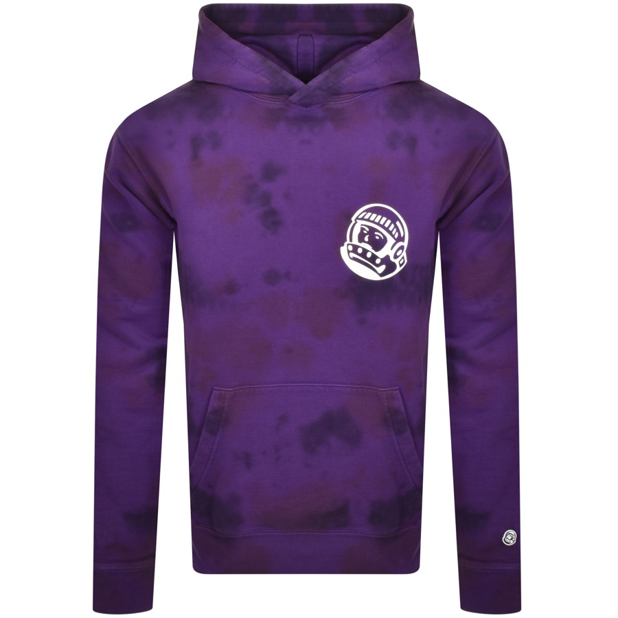 Billionaire Boys Club Cottons BILLIONAIRE BOYS CLUB TIE DYE HOODIE PURPLE