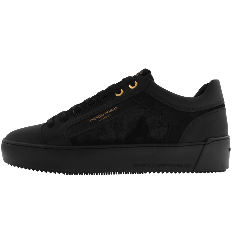 Android Homme Venice Trainers Black Camo