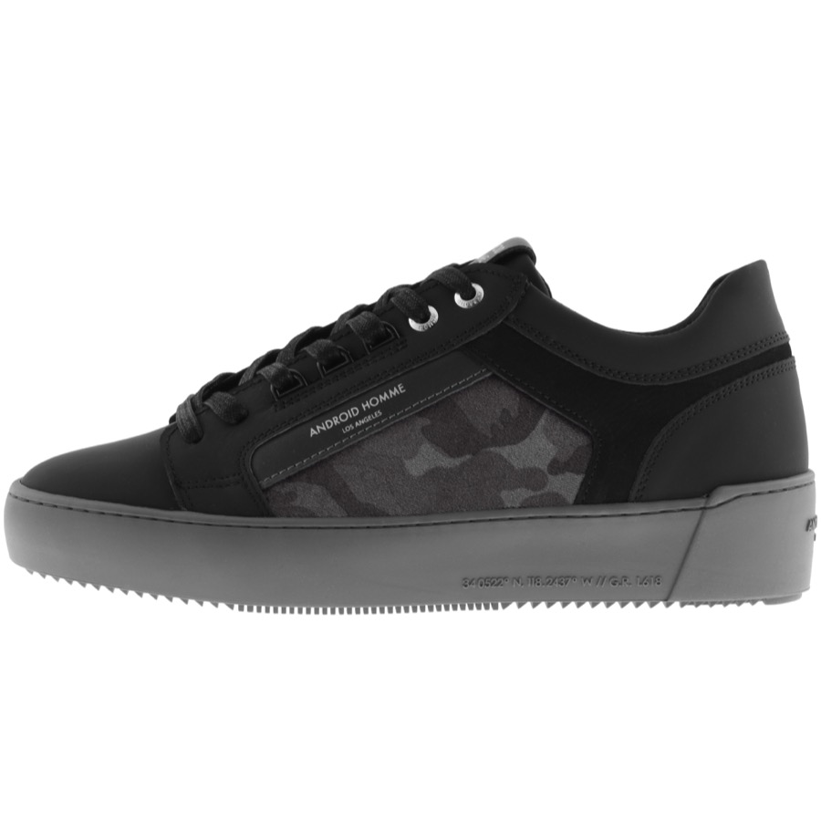 Android Homme Venice Trainers Carbon Black