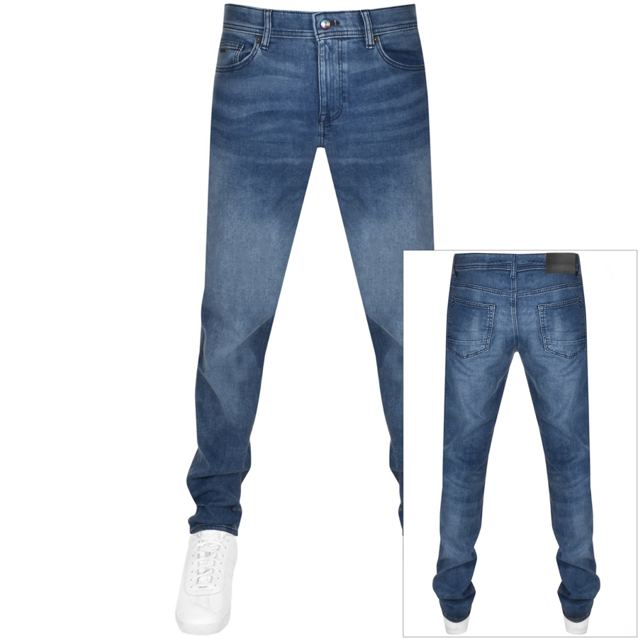 BOSS Delaware Slim Fit Jeans Blue