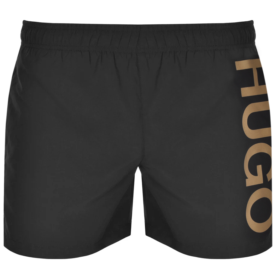 HUGO ABAS Swim Shorts Black