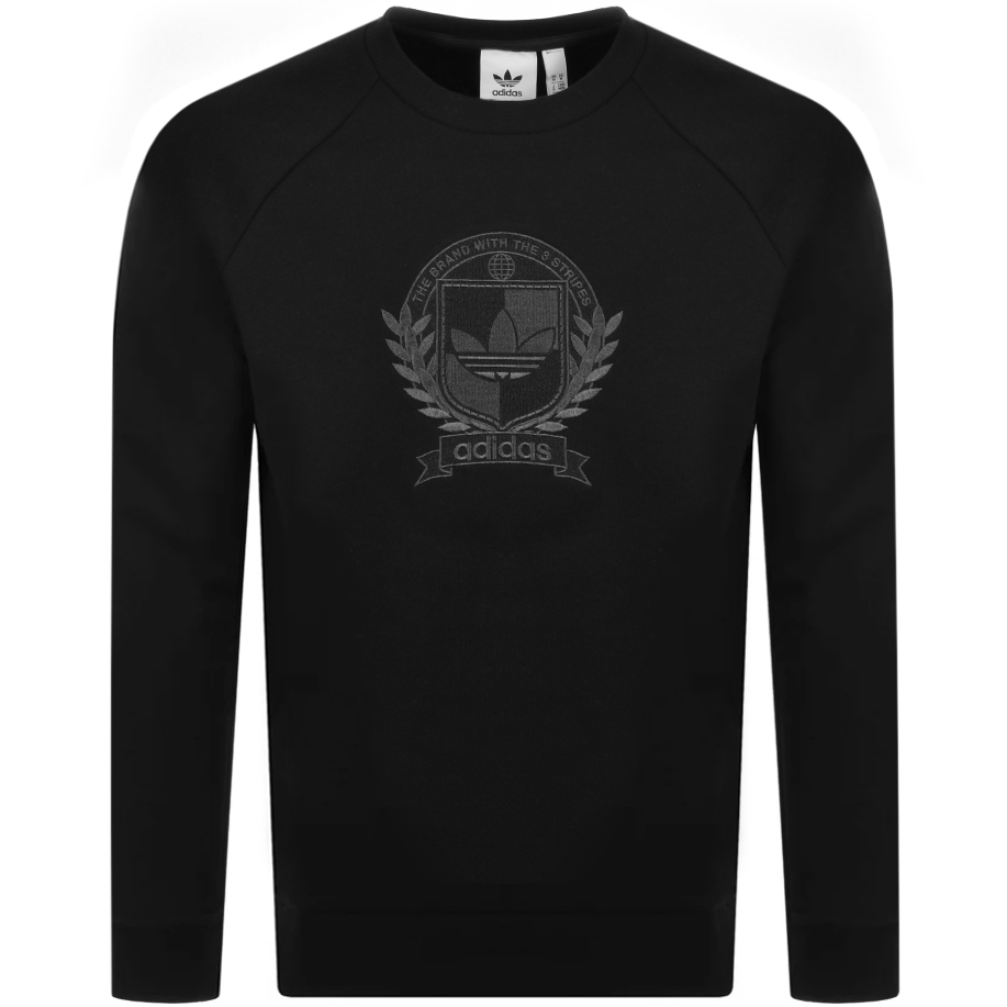 adidas Originals Collegiate Crest Sweatshirt Black