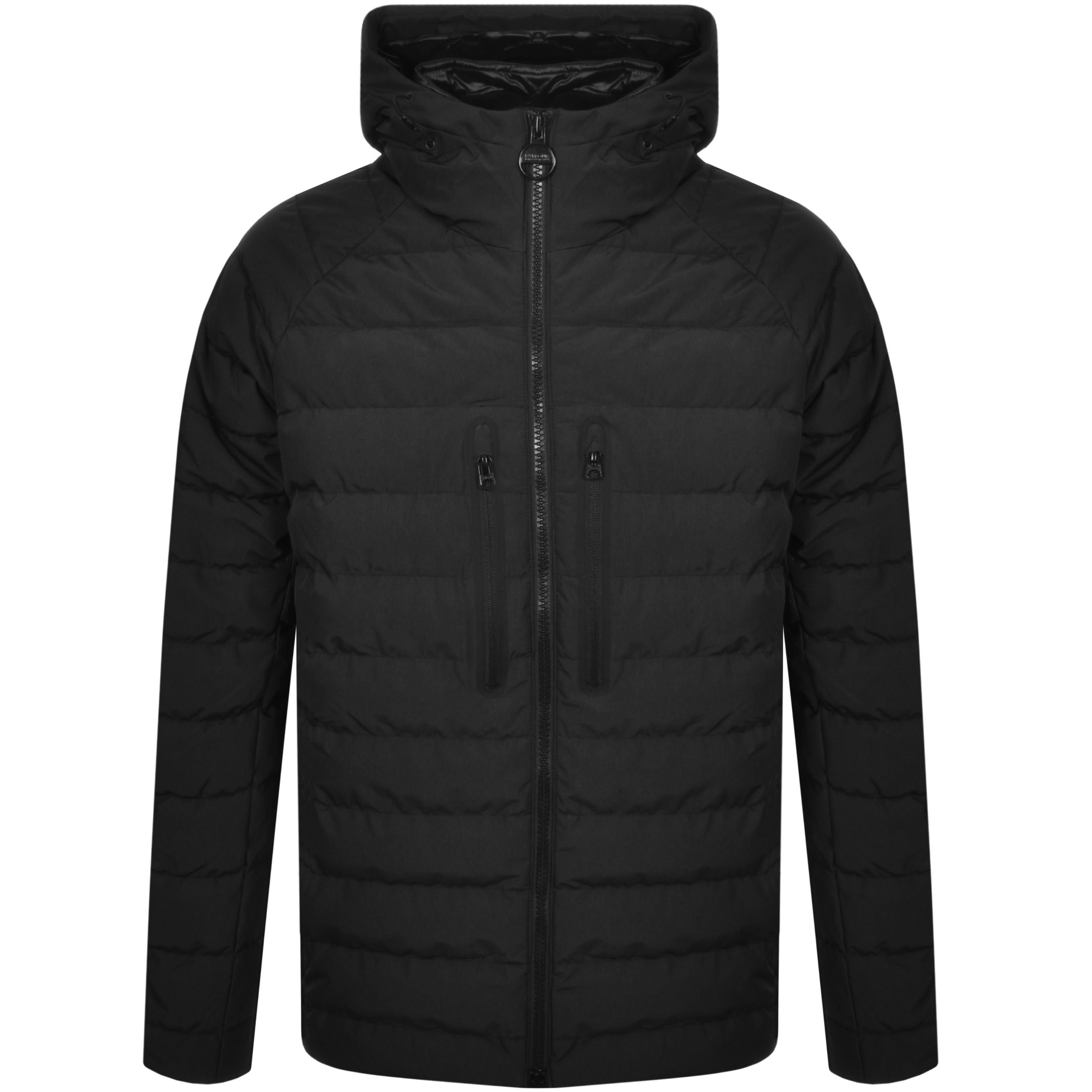 Barbour International Quilted River Jacket Black