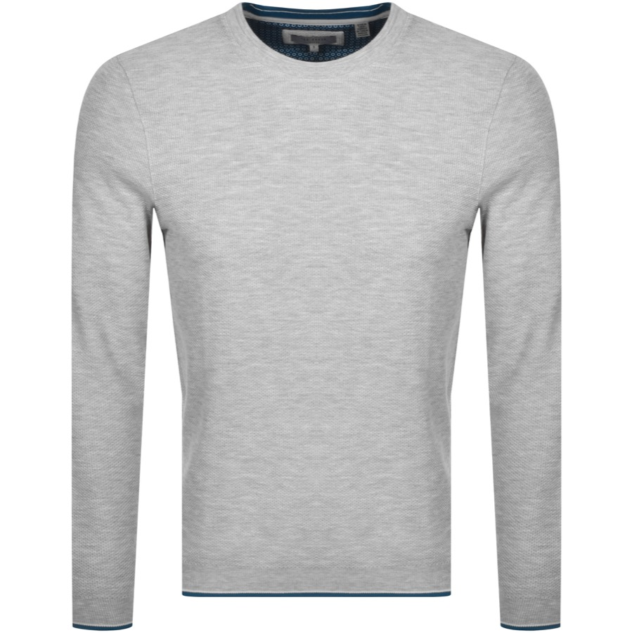 Ted Baker TED BAKER TEXTURED SWEATSHIRT GREY