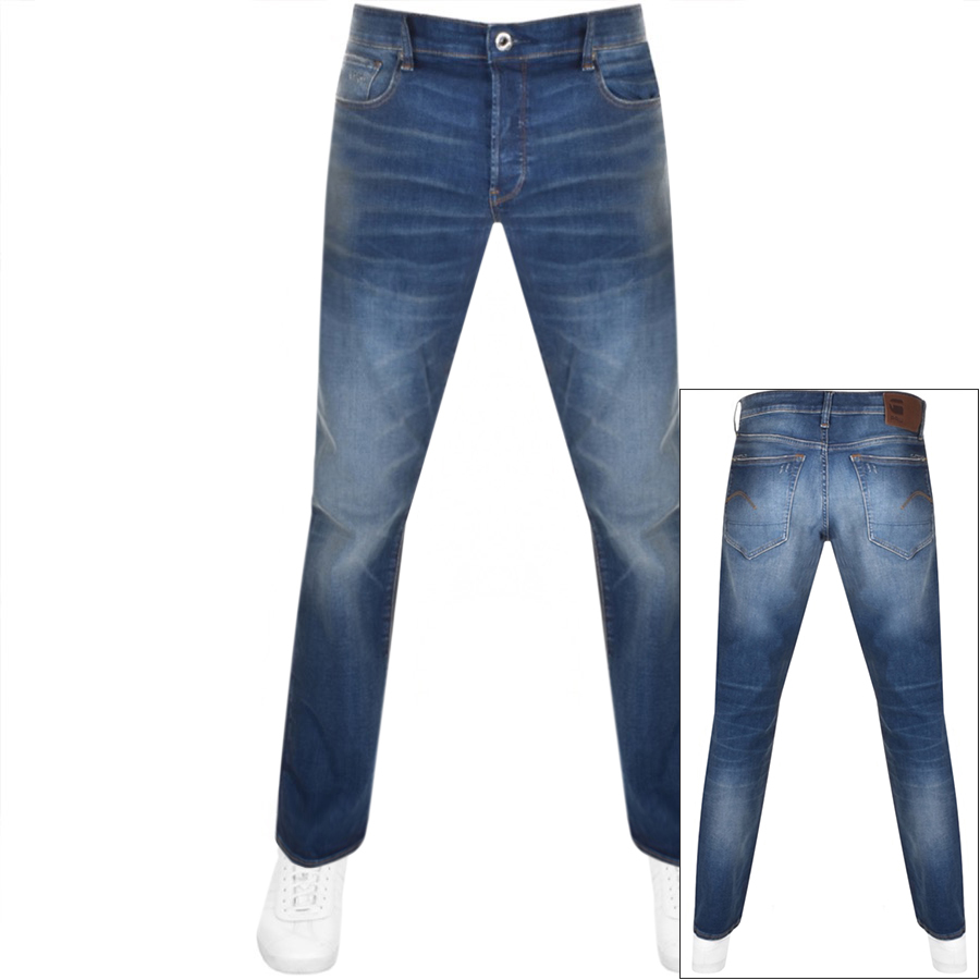 G Star Raw 3301 Relaxed Jeans Blue