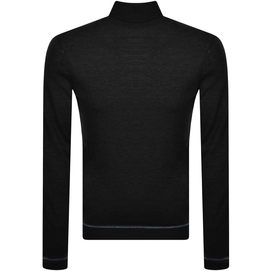 Ted Baker Knits TED BAKER EXARNO ROLL NECK KNIT JUMPER BLACK
