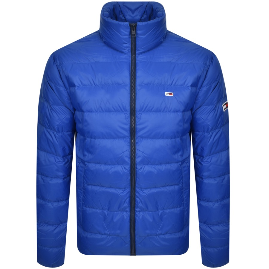 Tommy Jeans Packable Down Jacket Blue