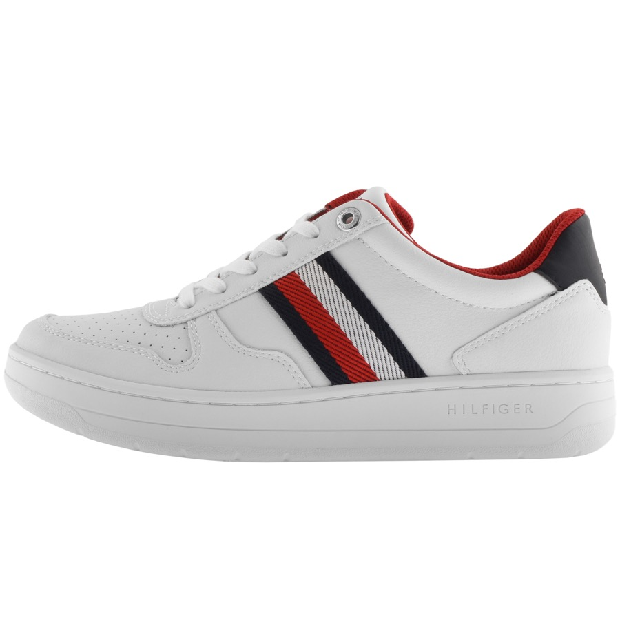 Tommy Hilfiger Basket Low Trainers White