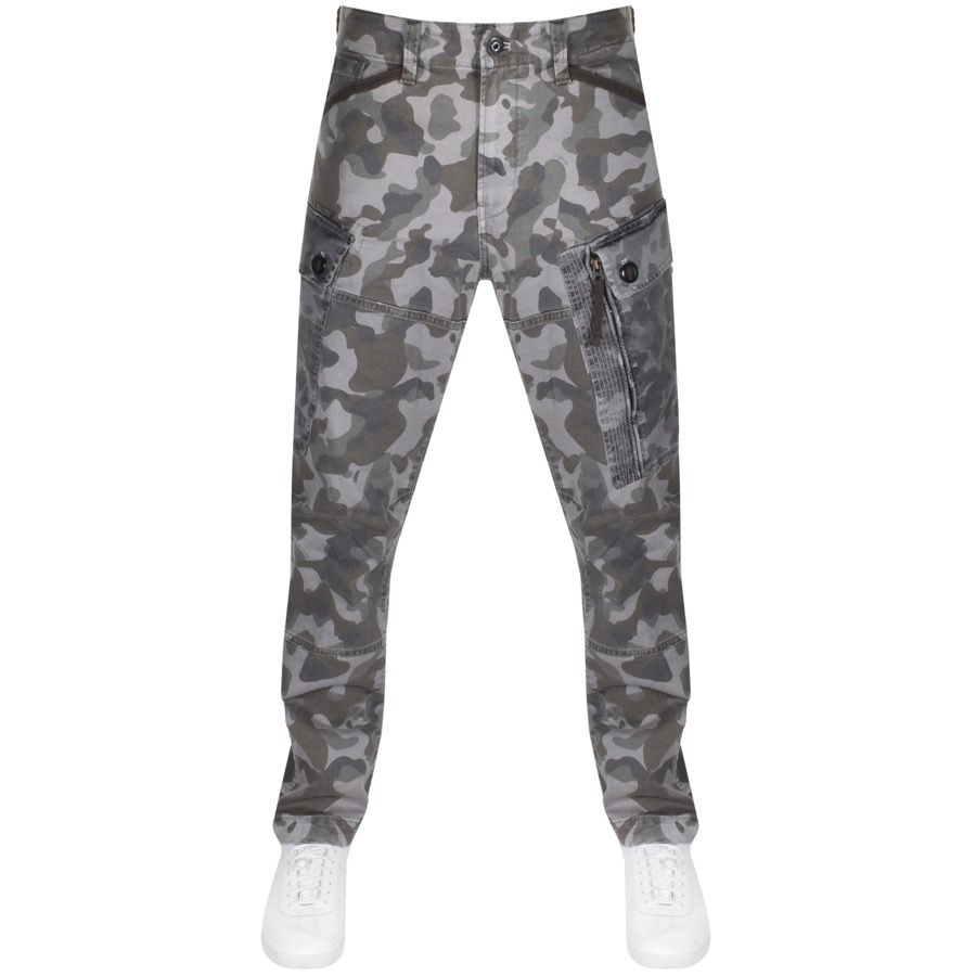 G Star Raw Roxic Tapered Cargo Trousers Grey
