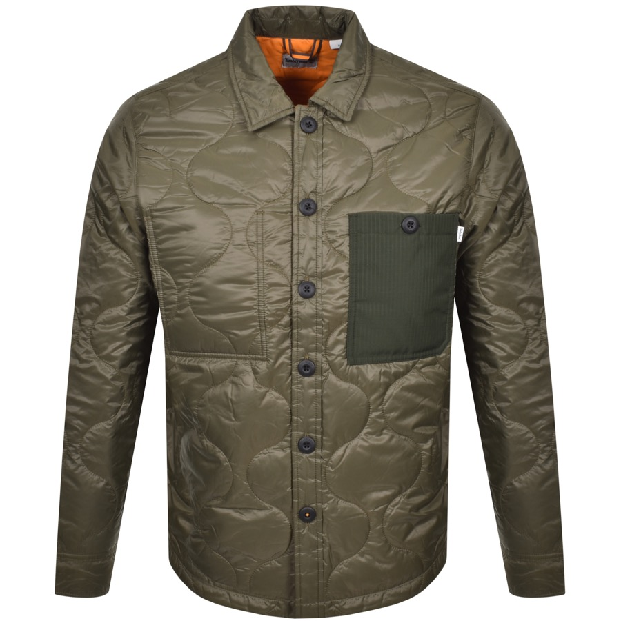 Timberland Quilted Jacket Green