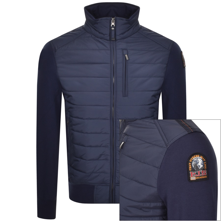 Parajumpers Elliot Full Zip Sweatshirt Navy