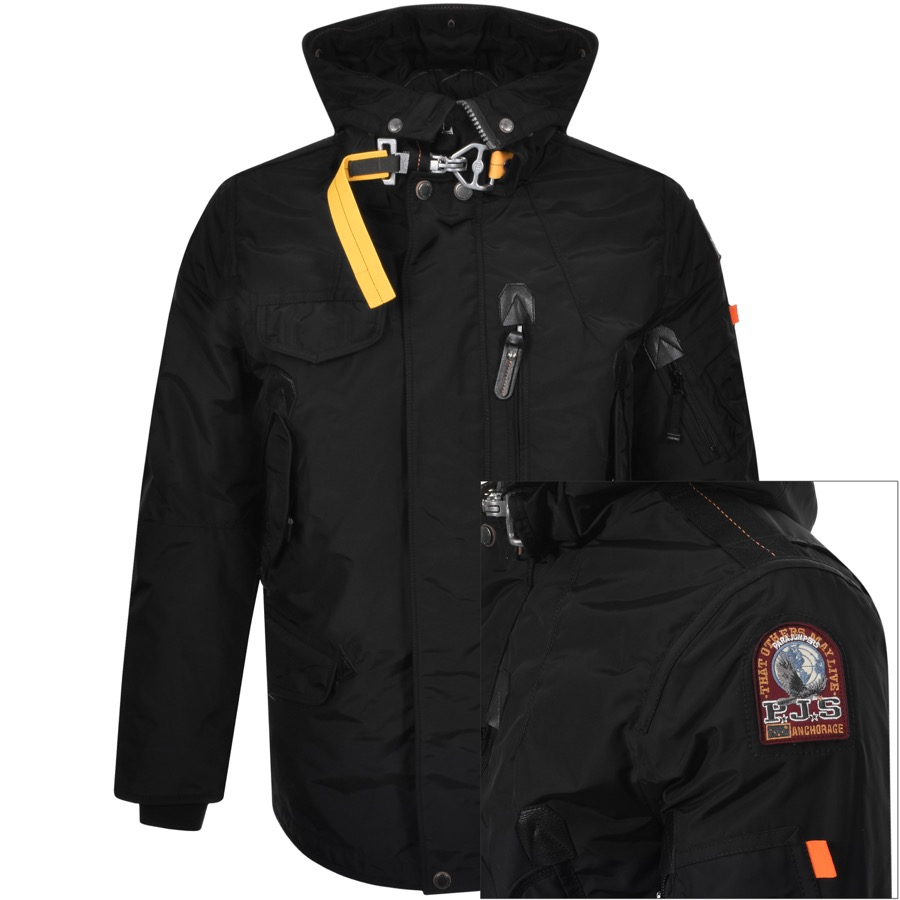 Parajumpers Right Hand Base Parka Jacket Black