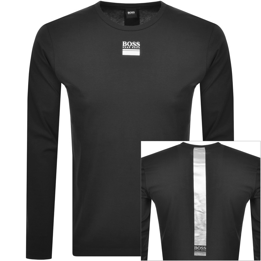 BOSS Togn 2 Long Sleeved T Shirt Black