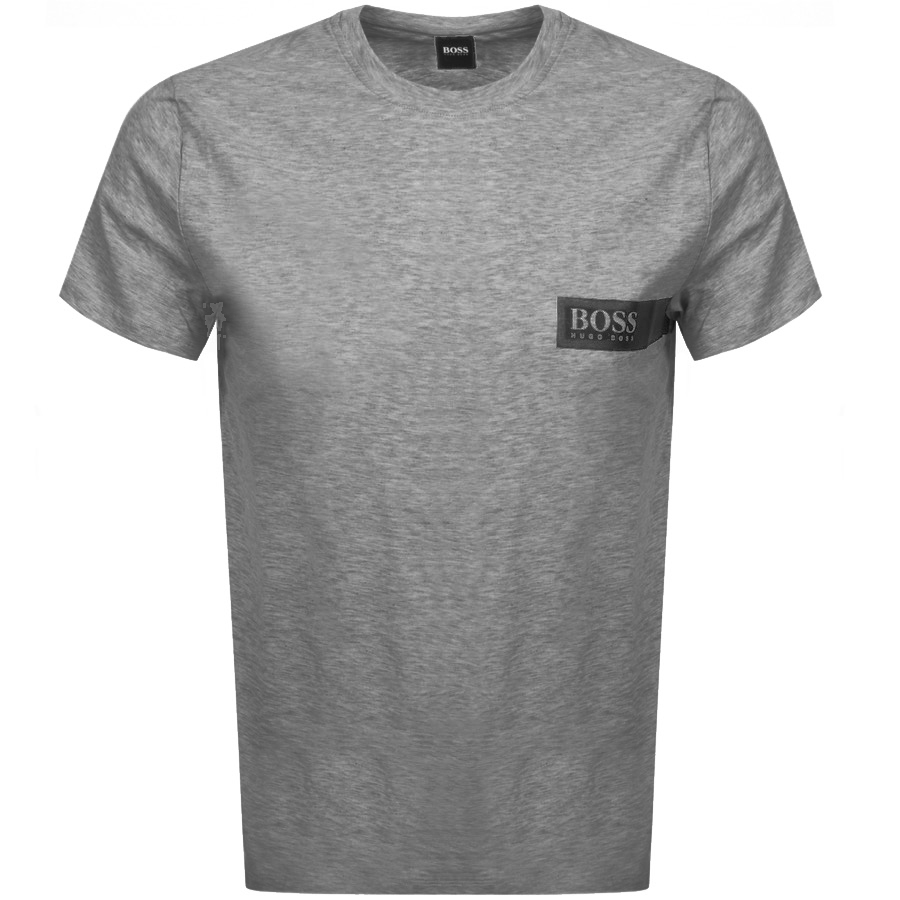 BOSS HUGO BOSS Crew Neck T Shirt Grey