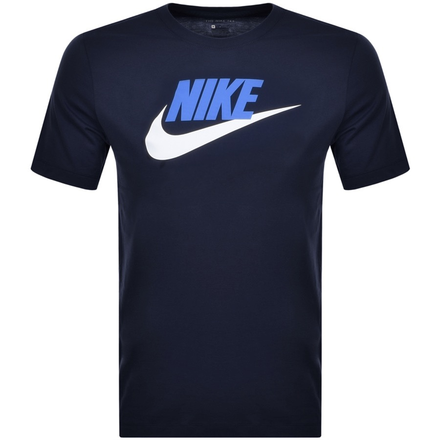 Nike Futura Icon T Shirt Navy