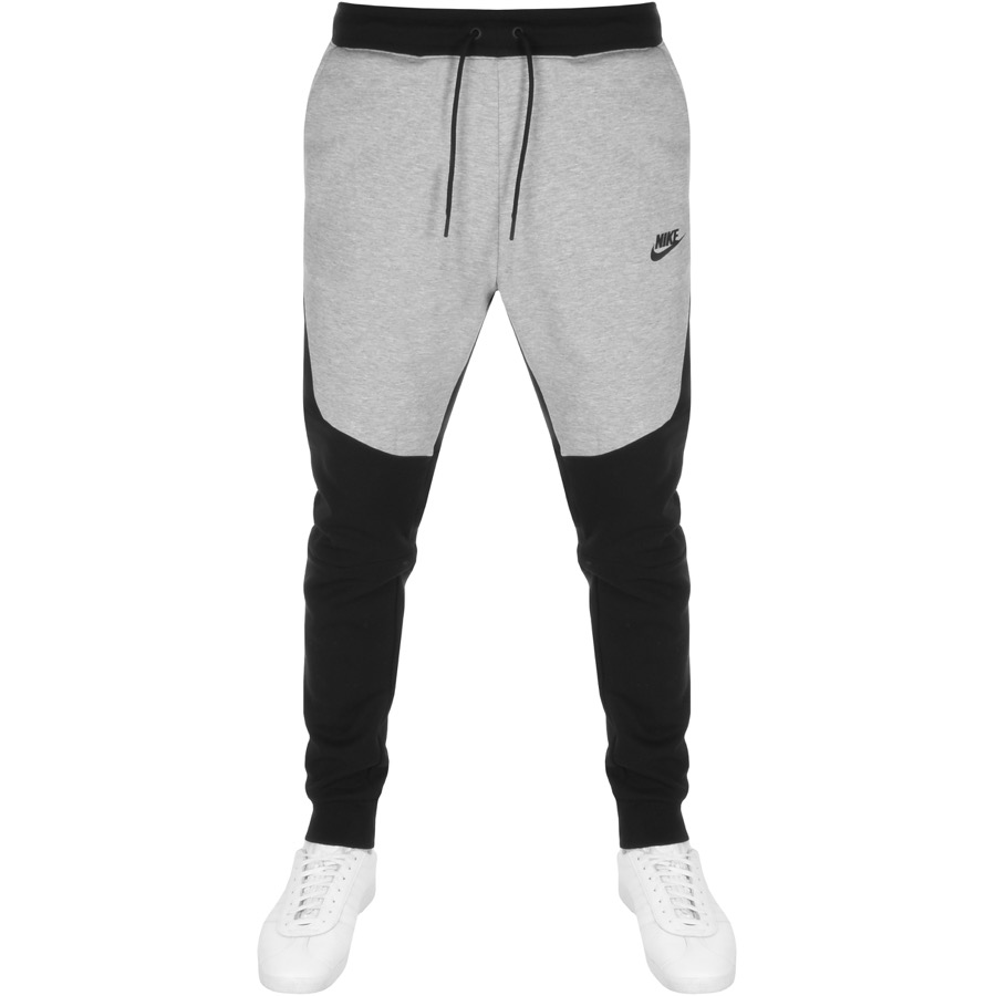 Nike Slim Fit Tech Jogging Bottoms Black