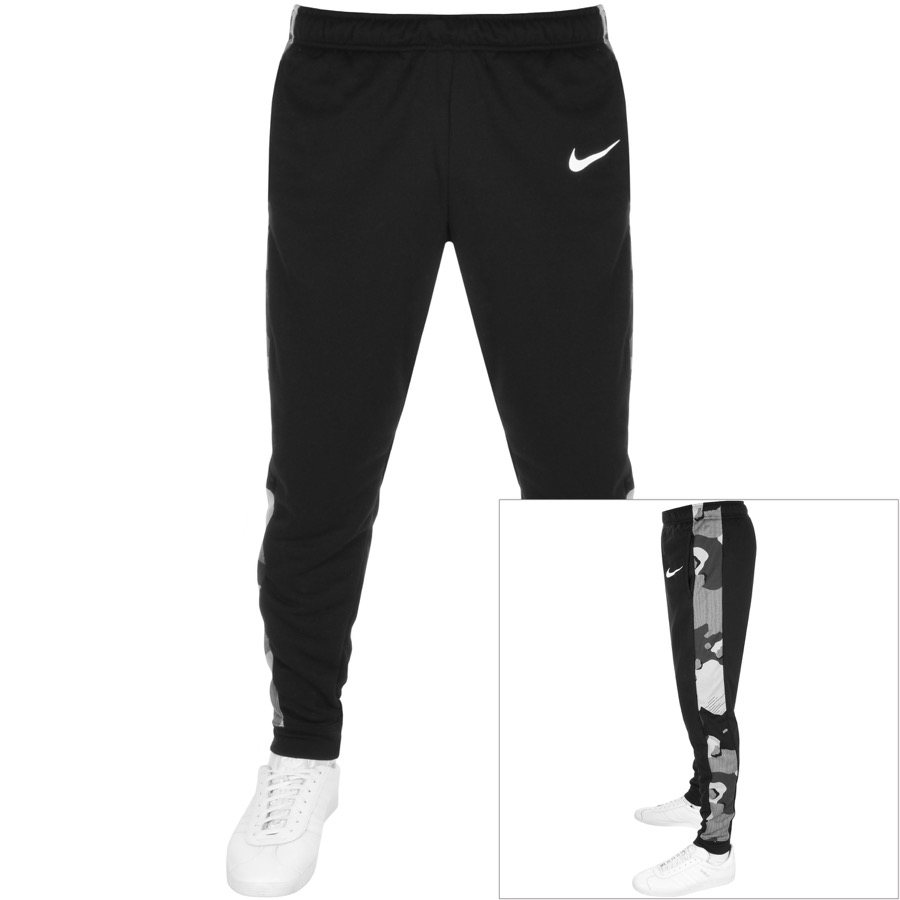Nike Training Logo Jogging Bottoms Black