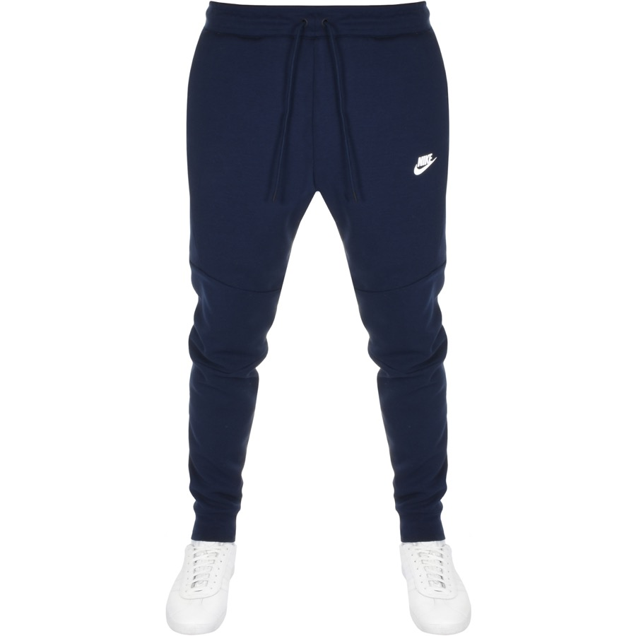 Nike Slim Fit Tech Jogging Bottoms Navy