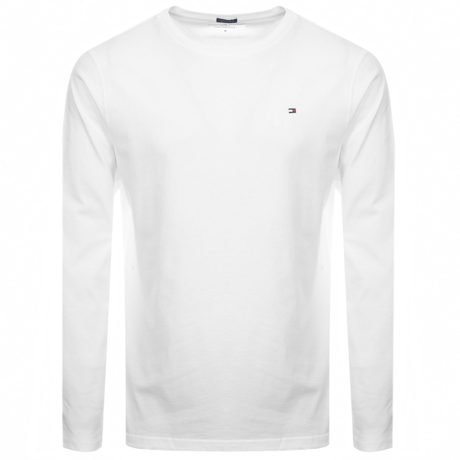 Tommy Hilfiger Lounge Long Sleeved T Shirt White