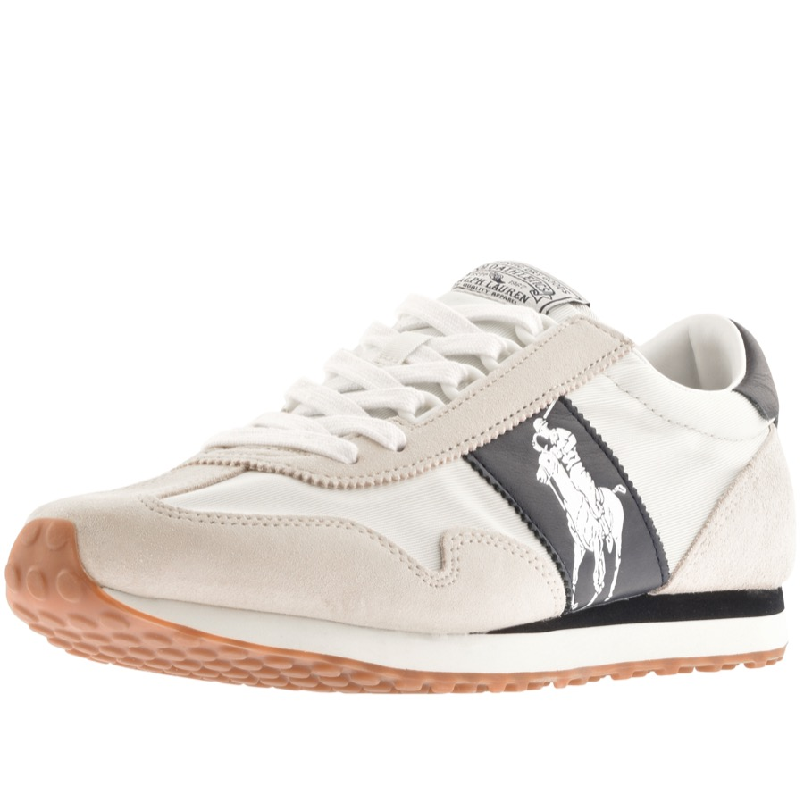 Ralph Lauren Train 90 Trainers Cream