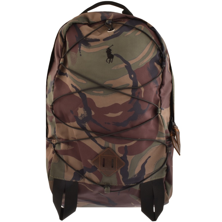 Ralph Lauren Mountain Backpack Green