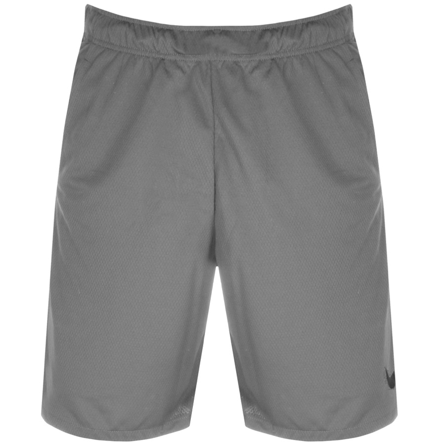 Nike Training Logo Shorts Grey