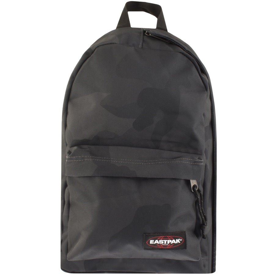 Eastpak Litt Cross Body Camo Backpack Grey