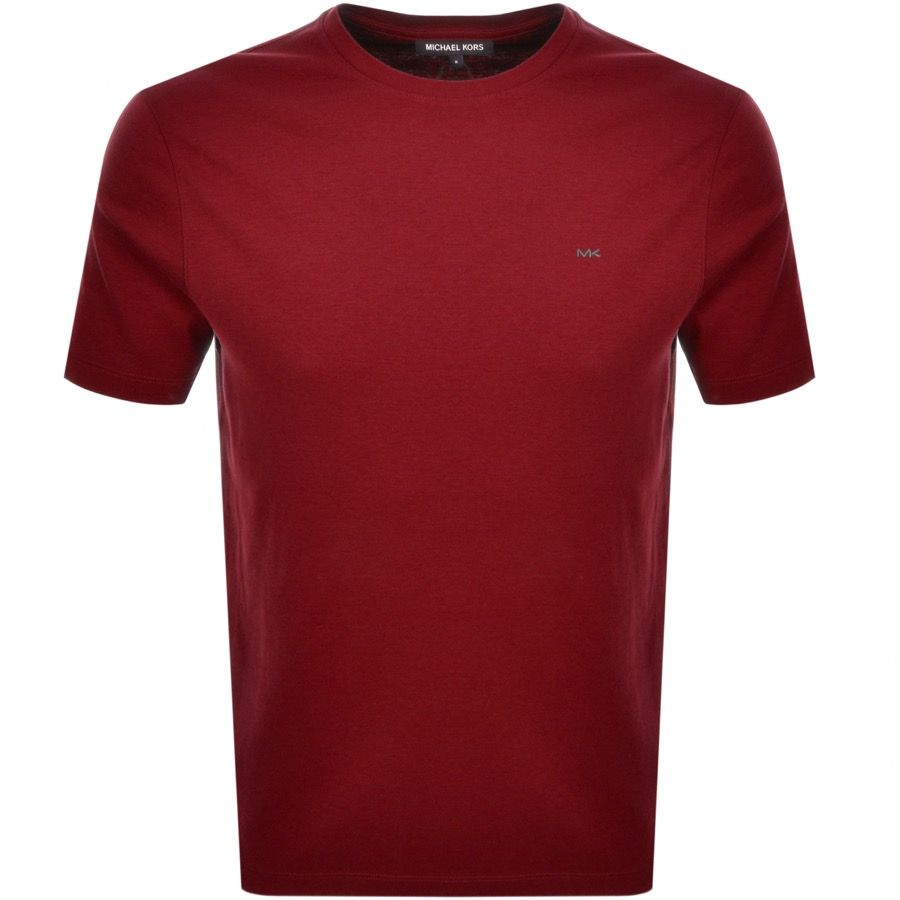 Michael Kors Sleek T Shirt Red
