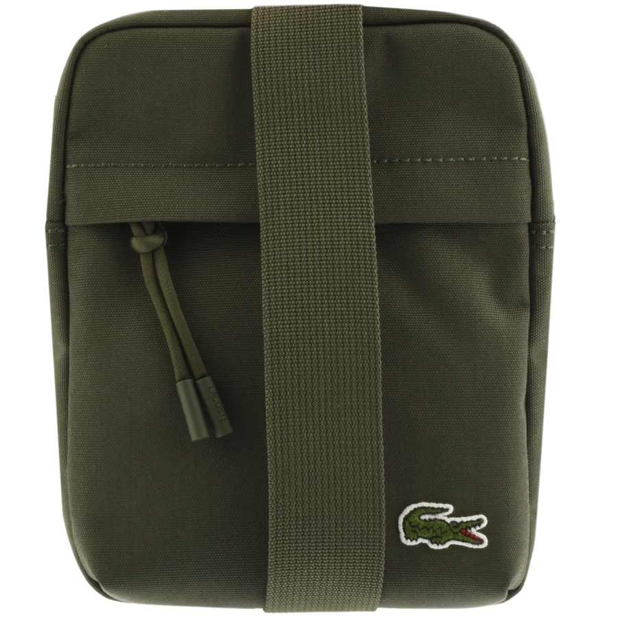 Lacoste Vertical Camera Bag Green