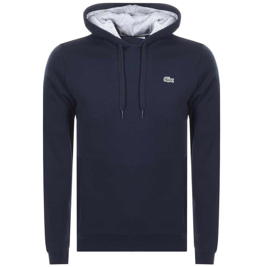 Lacoste Sport Pullover Hoodie Navy