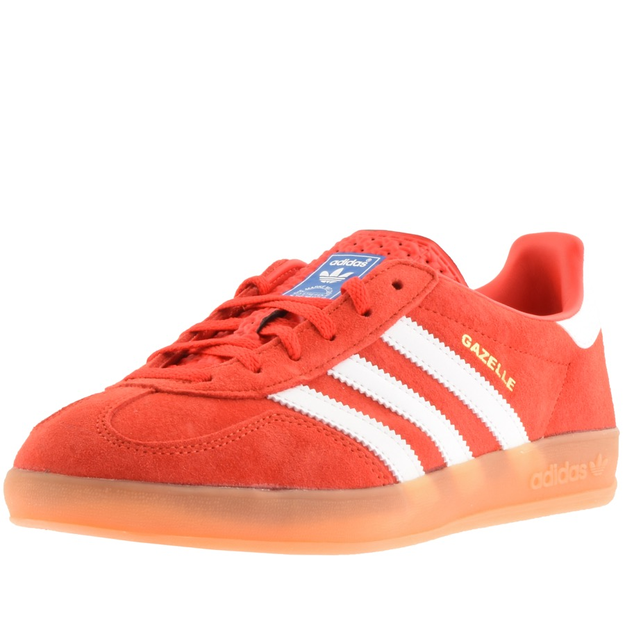adidas Originals Gazelle Indoor Trainers Red