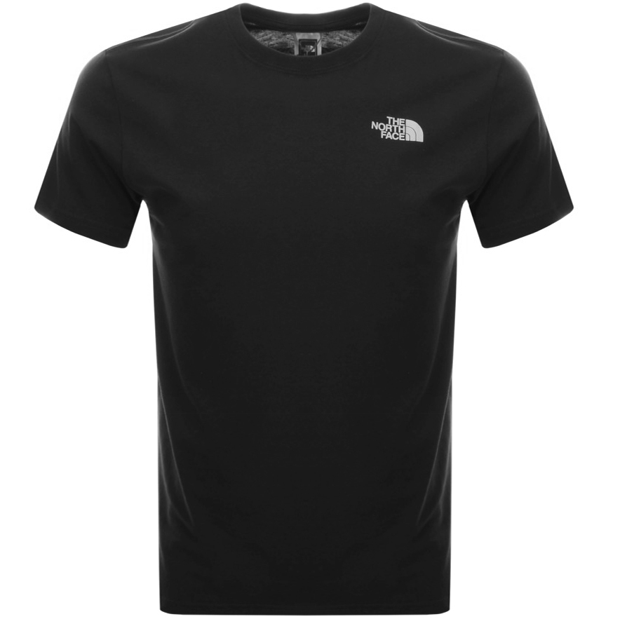 The North Face Simple Dome T Shirt Black