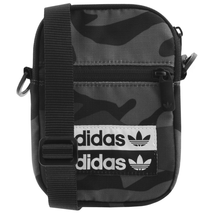 adidas Originals Camouflage Festival Bag Grey