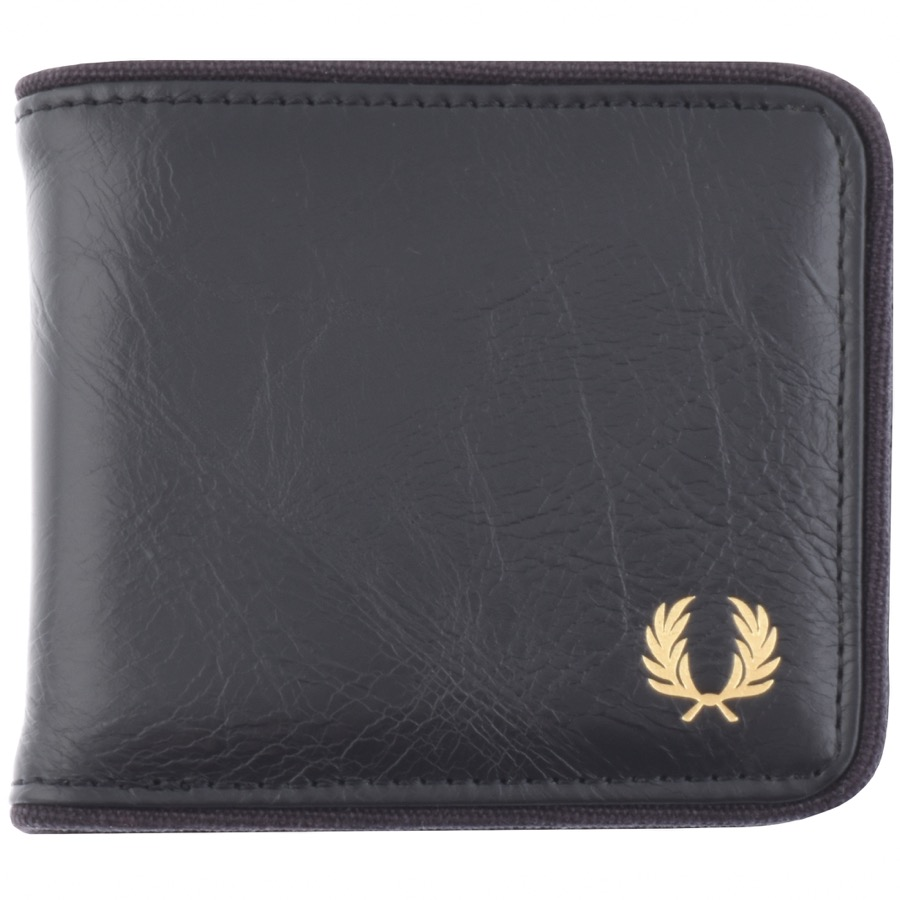 Fred Perry Classic Billfold Wallet Navy