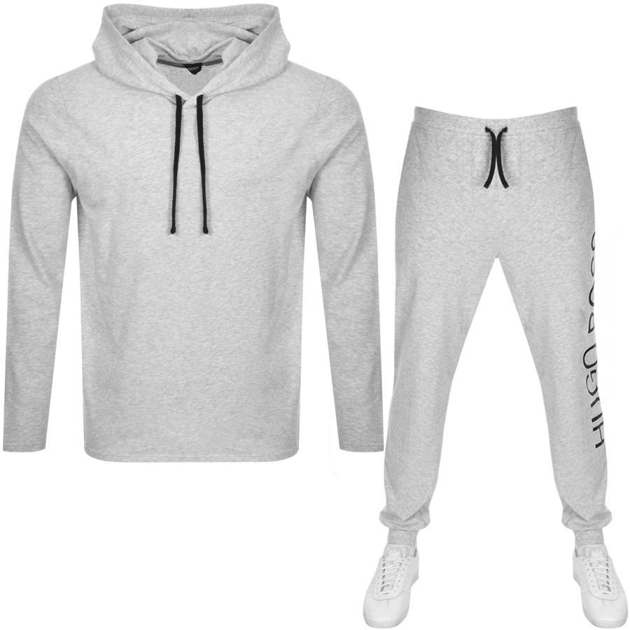 BOSS HUGO BOSS Lounge Tracksuit Grey