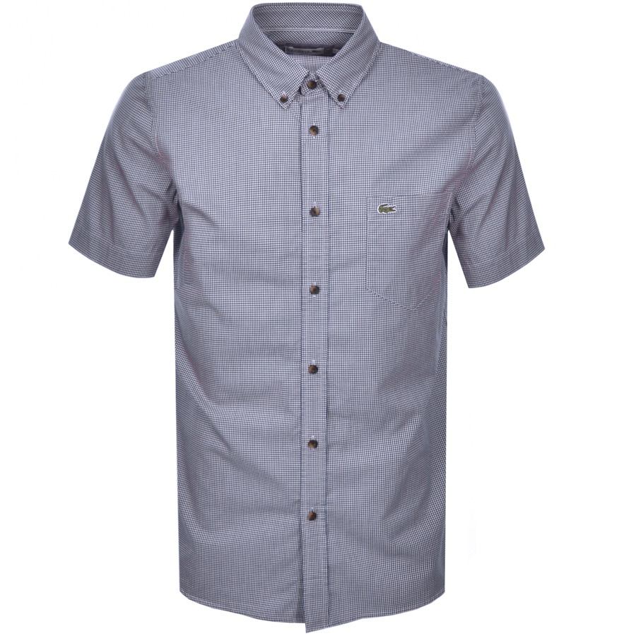 Lacoste Short Sleeved Shirt Navy
