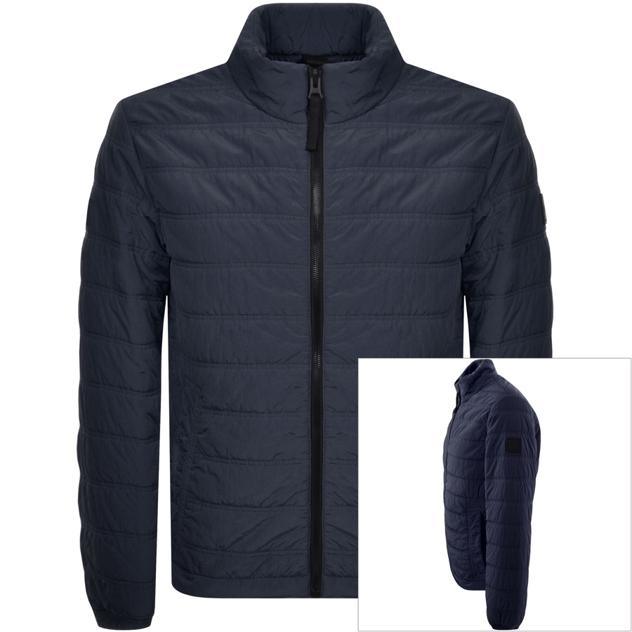 d4b841bcbb375 Product Image for BOSS Casual Owest D Padded Jacket Navy