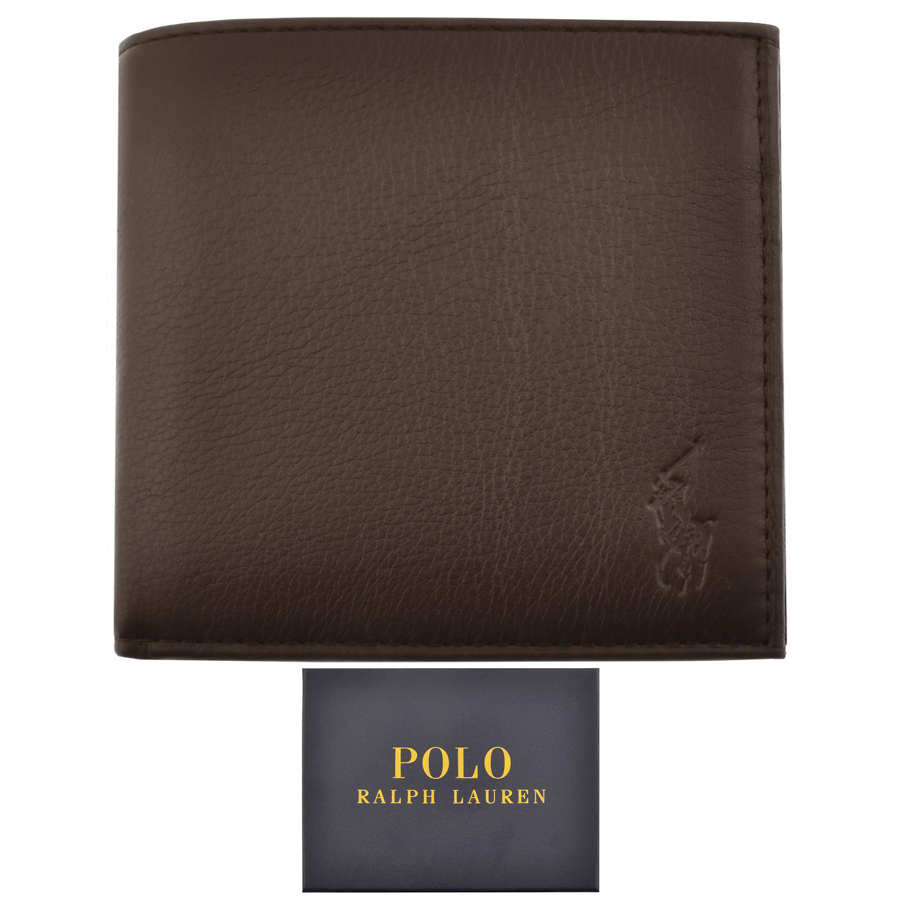 Ralph Lauren Leather Wallet Brown