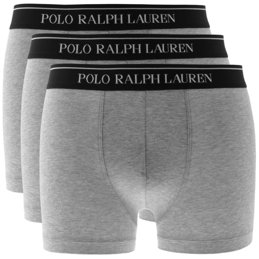 Ralph Lauren Underwear 3 Pack Boxer Shorts Grey