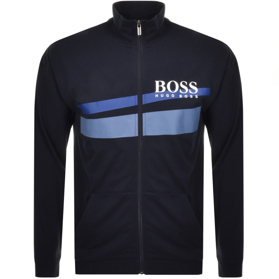 BOSS HUGO BOSS Full Zip Sweatshirt Navy