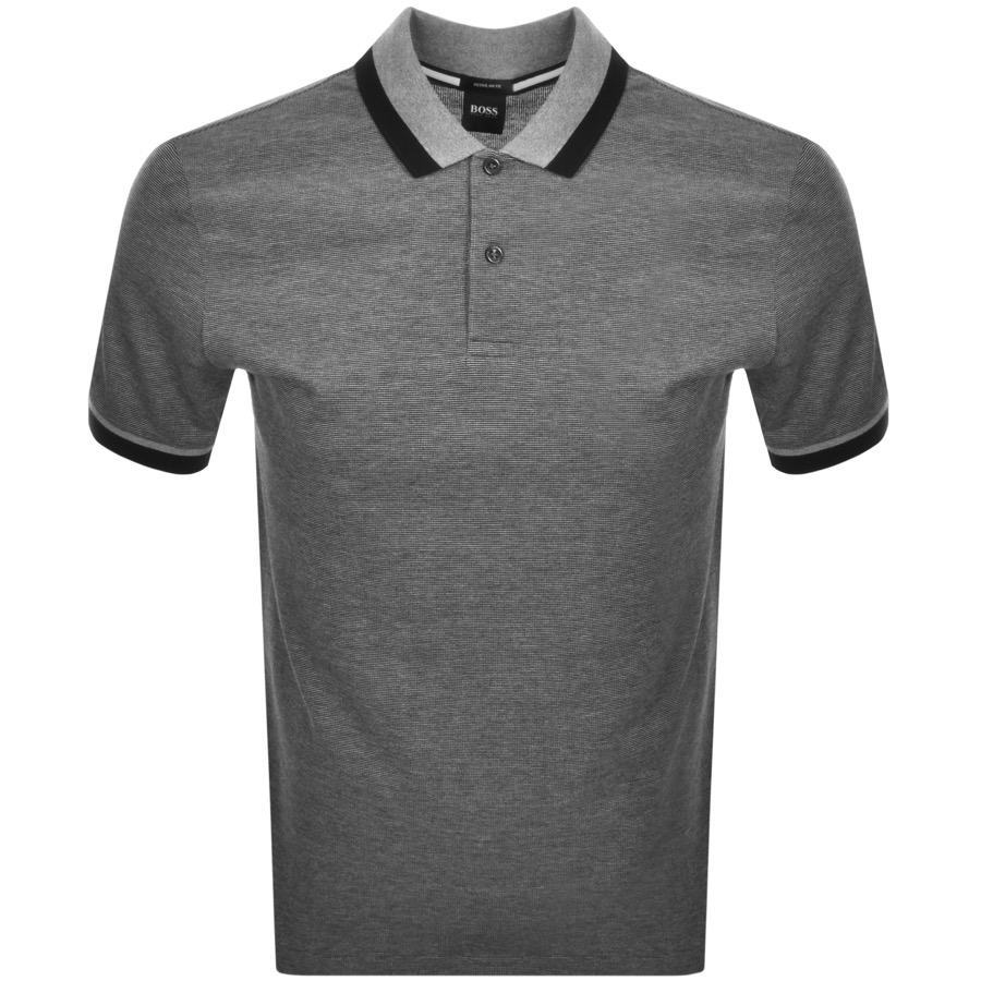 BOSS HUGO BOSS Parlay Polo T Shirt Black