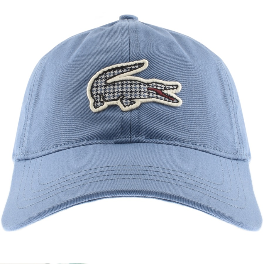 Lacoste Crocodile Cap Blue